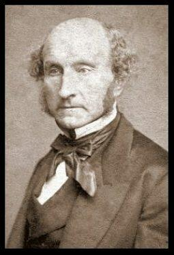 Foto do filósofo John Stuart Mill